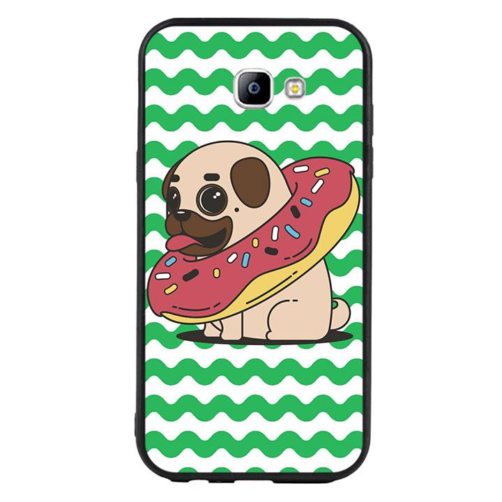 Ốp lưng viền TPU cho Samsung Galaxy A7 2017 - Cute Dog 04