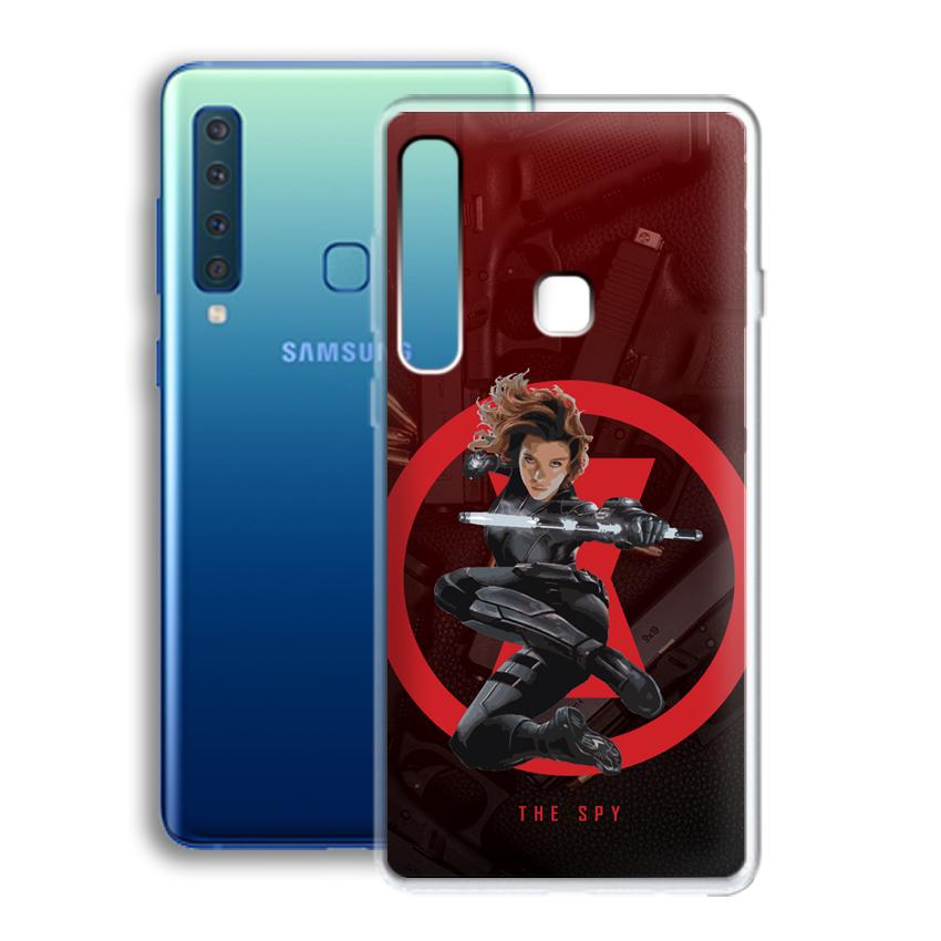 Ốp lưng cho điện thoại Samsung Galaxy A9 2018 - 01035 0538 SPY01 - Silicone dẻo - Hàng Chính Hãng