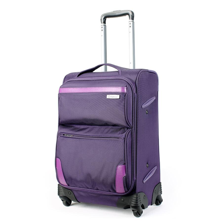 """Diplomat DE-1557A Universal Wheel Trolley Purple 20"""" - 1908499 , 3910567961034 , 62_10255489 , 2854000 , Diplomat-DE-1557A-Universal-Wheel-Trolley-Purple-20-62_10255489 , tiki.vn , Diplomat DE-1557A Universal Wheel Trolley Purple 20"""""""