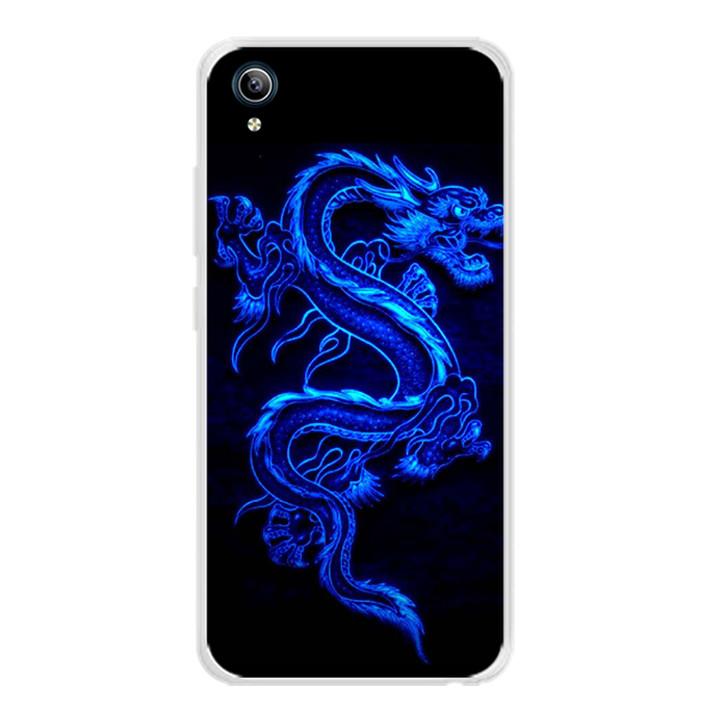 Ốp lưng dẻo cho điện thoại Vivo Y91C - 0270 DRADON02 - Hàng Chính Hãng