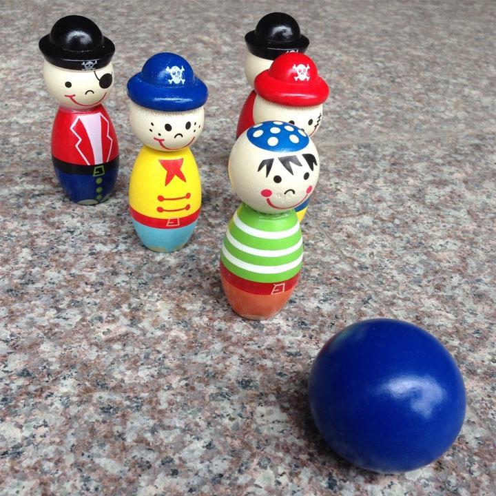 Bộ đồ chơi bowling DCGWD07  đồ chơi gỗ