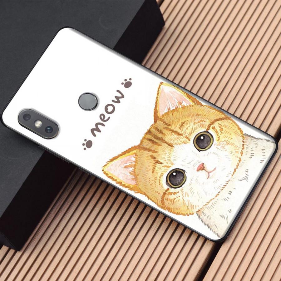 Ốp lưng dành cho Xiaomi Mi Mix 2S mẫu Meow