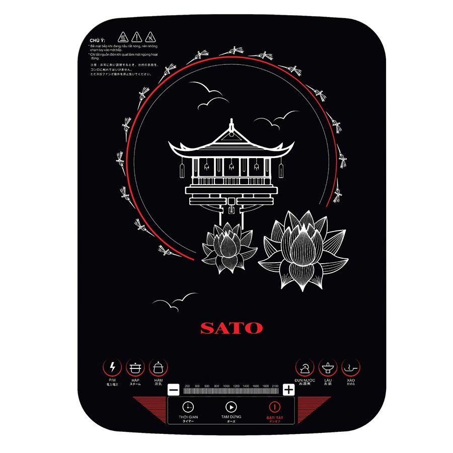 Bếp Điện Từ Đơn Sato STB-205 (Tặng Kèm Nồi Inox) - 1280590 , 5866600060586 , 62_12379138 , 2156000 , Bep-Dien-Tu-Don-Sato-STB-205-Tang-Kem-Noi-Inox-62_12379138 , tiki.vn , Bếp Điện Từ Đơn Sato STB-205 (Tặng Kèm Nồi Inox)
