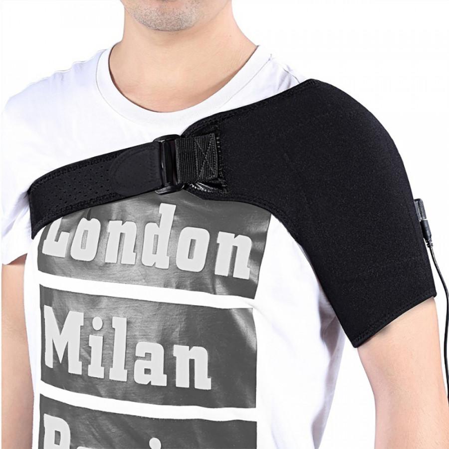 Shoulder Guard Heating Shoulder Support Durable Black 3 Level Winter Clothing