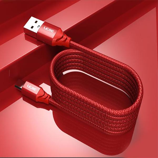 Cáp Sạc Và Truyền Dữ Liệu Micro USB Android Lejie - Đỏ - 1025565 , 4107639987569 , 62_2947811 , 73000 , Cap-Sac-Va-Truyen-Du-Lieu-Micro-USB-Android-Lejie-Do-62_2947811 , tiki.vn , Cáp Sạc Và Truyền Dữ Liệu Micro USB Android Lejie - Đỏ