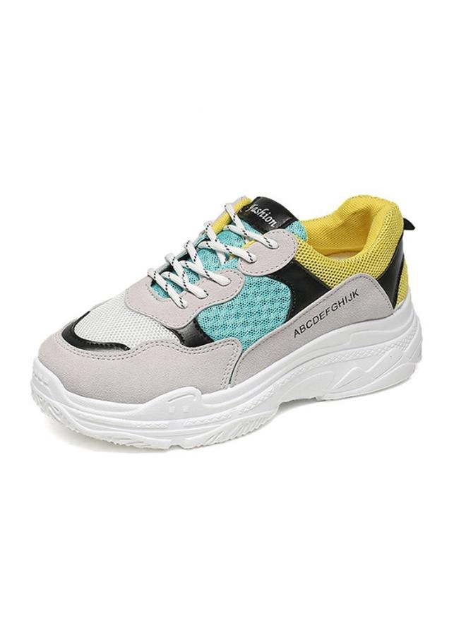 Giày Sneaker Thể Thao Nữ Họa Tiết Lah Mắt Độn Đế Tăng Chiều Cao 2606 - 2328350 , 3521323119950 , 62_15065939 , 272000 , Giay-Sneaker-The-Thao-Nu-Hoa-Tiet-Lah-Mat-Don-De-Tang-Chieu-Cao-2606-62_15065939 , tiki.vn , Giày Sneaker Thể Thao Nữ Họa Tiết Lah Mắt Độn Đế Tăng Chiều Cao 2606
