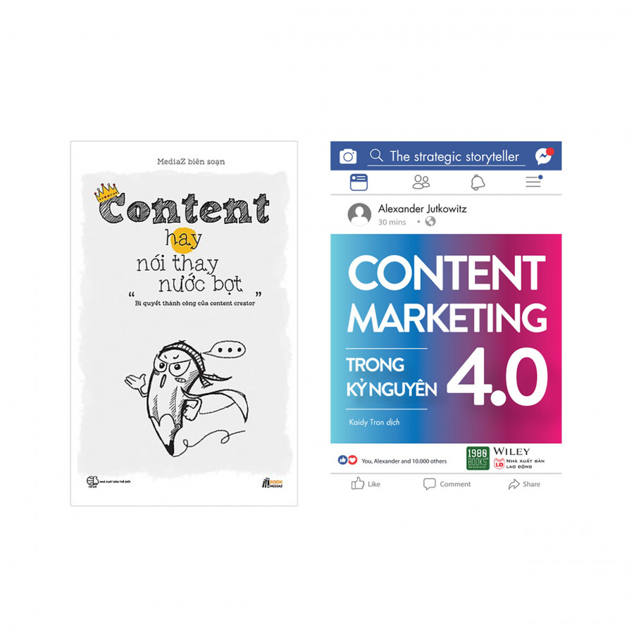Combo Hay Về Content Marketing : Content Marketing Trong Kỷ Nguyên 4.0 + Content Hay Nói Thay Nước Bọt - 1734272 , 3002001711166 , 62_12132234 , 289000 , Combo-Hay-Ve-Content-Marketing-Content-Marketing-Trong-Ky-Nguyen-4.0-Content-Hay-Noi-Thay-Nuoc-Bot-62_12132234 , tiki.vn , Combo Hay Về Content Marketing : Content Marketing Trong Kỷ Nguyên 4.0 + Conte