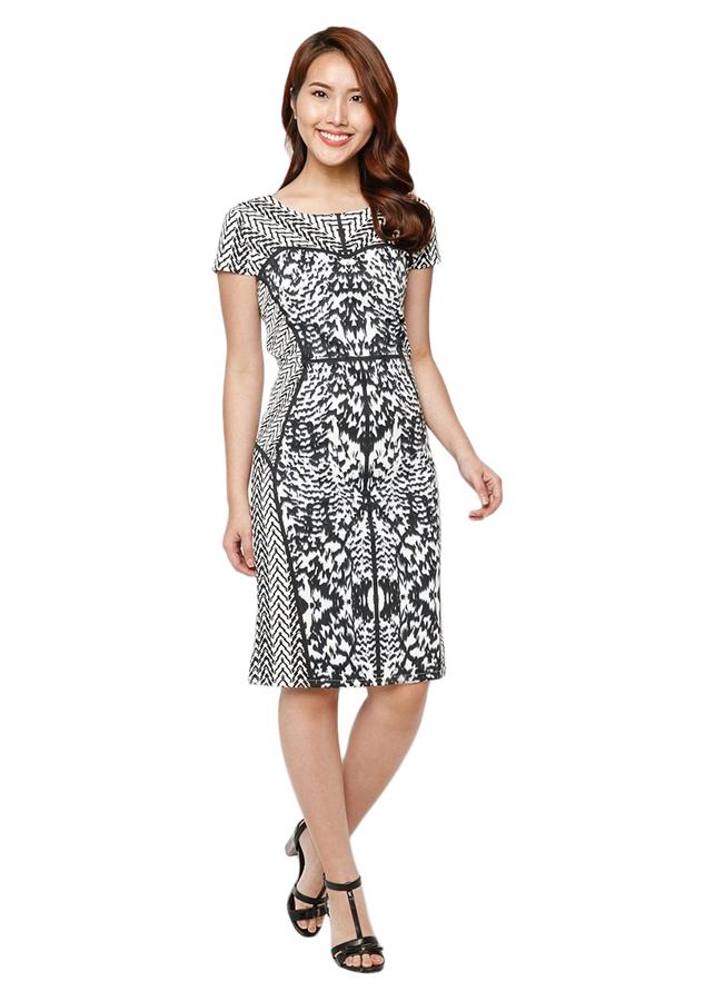 Đầm Suông Cao Cấp Hoàng Khanh - HK 445