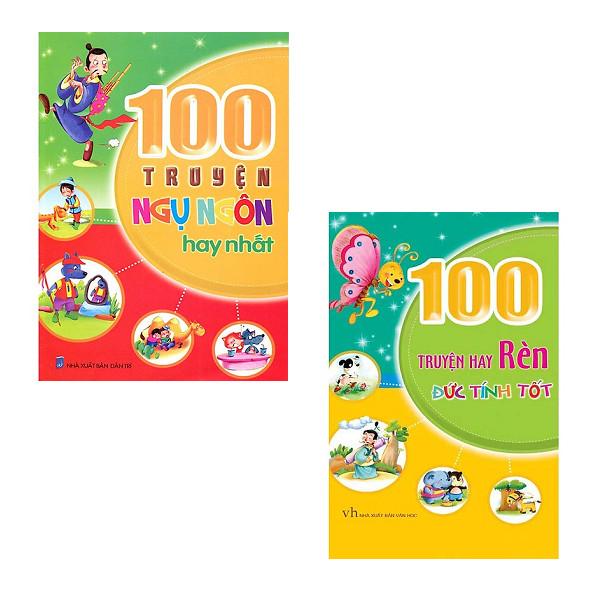 Combo 100 Truyện Hay Rèn Đức Tính Tốt + 100 Truyện Ngụ Ngôn Hay Nhất