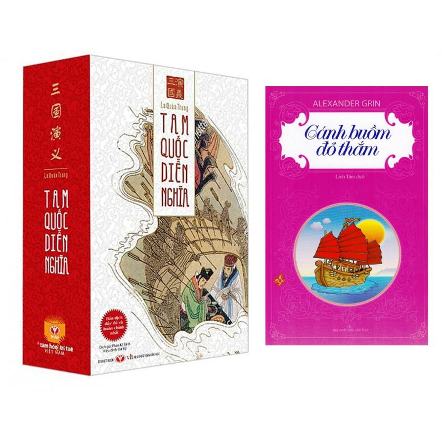 Combo Tam Quốc Diễn Nghĩa (Trọn Bộ 2 Tập) + Cánh Buồm Đỏ Thắm