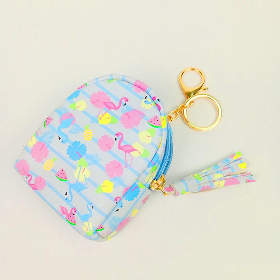 Móc khóa túi ví balo mini da PU - con hạc hồng màu xanh da trời - 1308474 , 7603481729588 , 62_7942440 , 69000 , Moc-khoa-tui-vi-balo-mini-da-PU-con-hac-hong-mau-xanh-da-troi-62_7942440 , tiki.vn , Móc khóa túi ví balo mini da PU - con hạc hồng màu xanh da trời