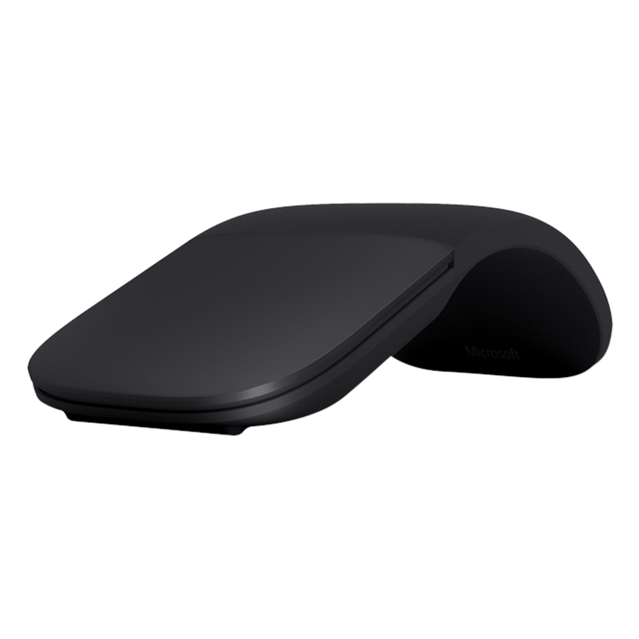 Chuột Không Dây Microsoft ELG-00001 Surface Arc Mouse BT BLK ELG00001 - Hàng Chính Hãng