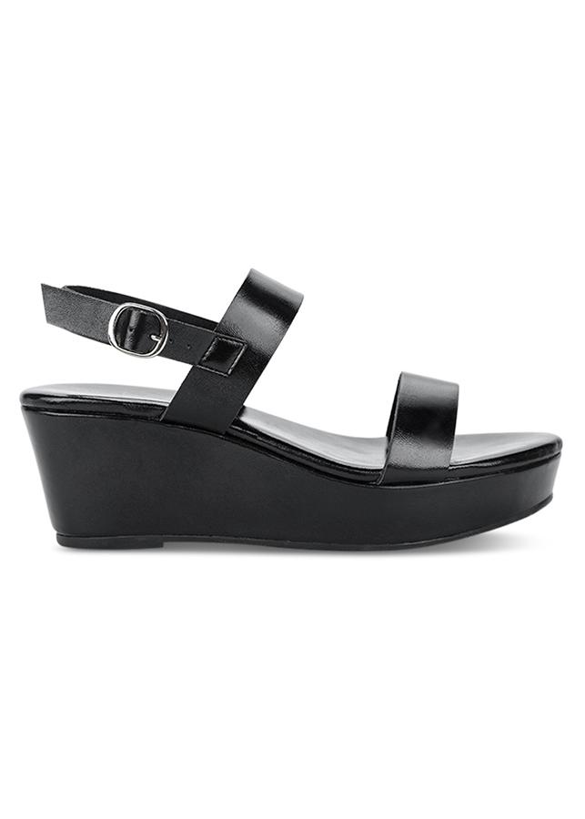 Giày Xăng Đan Nữ Holster Vibe Wedge - Black