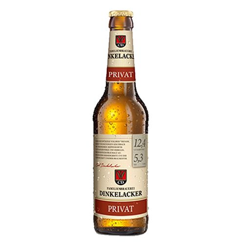 Chai bia Dinkelacker Privat Export 5.3% (330ml)