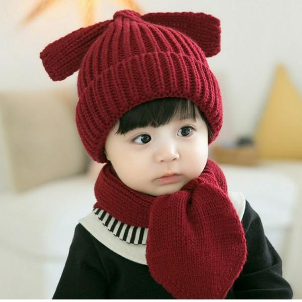 Set mũ len và khăn len tai thỏ cho bé từ 3-24 tháng tuổi Chic Rabbit - 1218980 , 2095161727284 , 62_7777309 , 320000 , Set-mu-len-va-khan-len-tai-tho-cho-be-tu-3-24-thang-tuoi-Chic-Rabbit-62_7777309 , tiki.vn , Set mũ len và khăn len tai thỏ cho bé từ 3-24 tháng tuổi Chic Rabbit