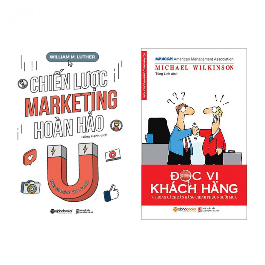 Combo: Chiến Lược Marketing Hoàn Hảo + Đọc Vị Khách Hàng - 1650209 , 7304387599472 , 62_11434996 , 198000 , Combo-Chien-Luoc-Marketing-Hoan-Hao-Doc-Vi-Khach-Hang-62_11434996 , tiki.vn , Combo: Chiến Lược Marketing Hoàn Hảo + Đọc Vị Khách Hàng