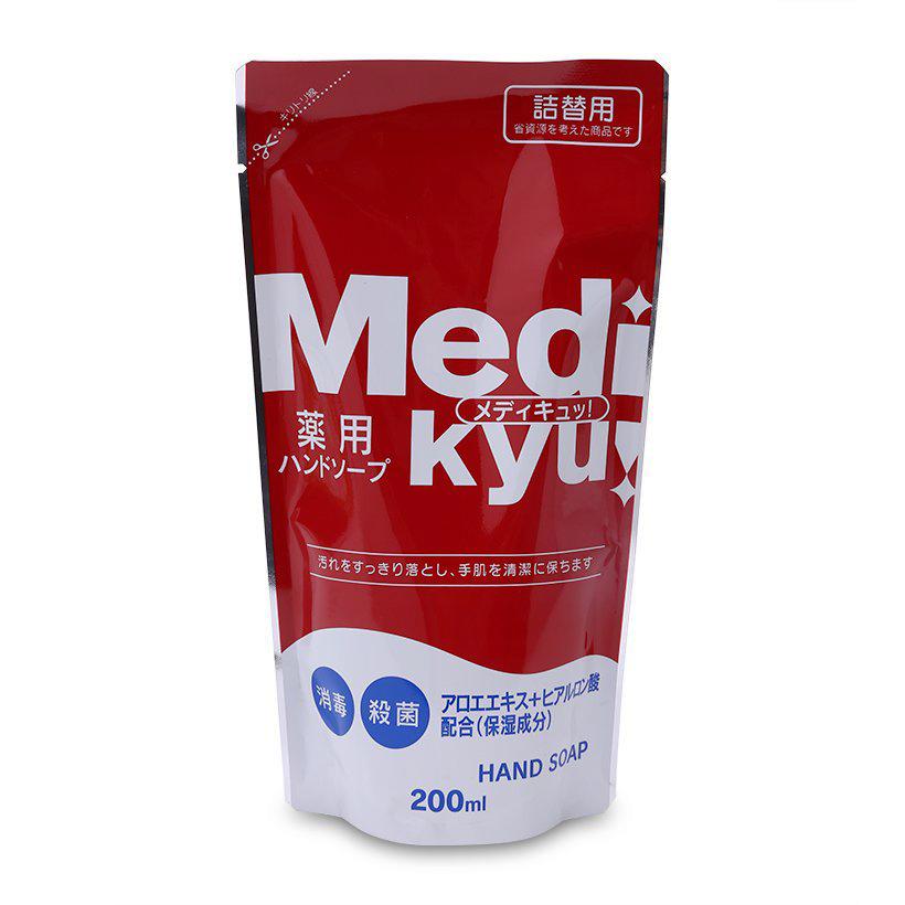 Dung dịch rửa tay Medi Kyu 200ml loại túi nội địa Nhật Bản - 2679059107503,62_2091039,84100,tiki.vn,Dung-dich-rua-tay-Medi-Kyu-200ml-loai-tui-noi-dia-Nhat-Ban-62_2091039,Dung dịch rửa tay Medi Kyu 200ml loại túi nội địa Nhật Bản