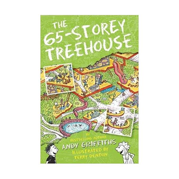 The 65-Storey Treehouse (The Treehouse Books) Paperback