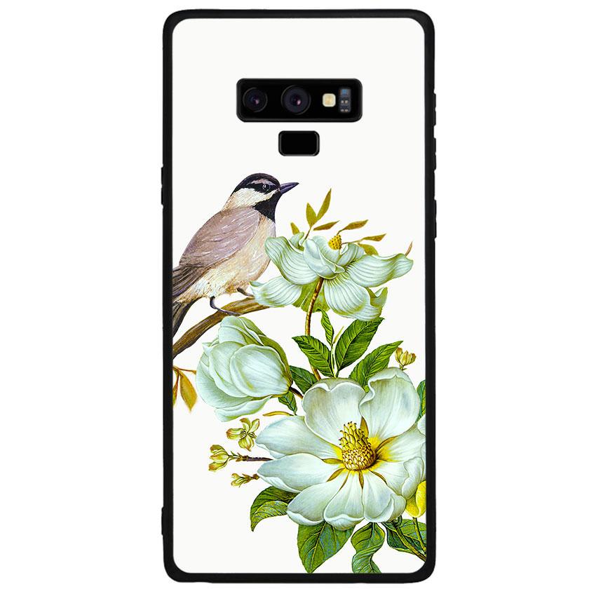 Ốp lưng viền TPU cho điện thoại Samsung Galaxy Note 9 - Spring 03
