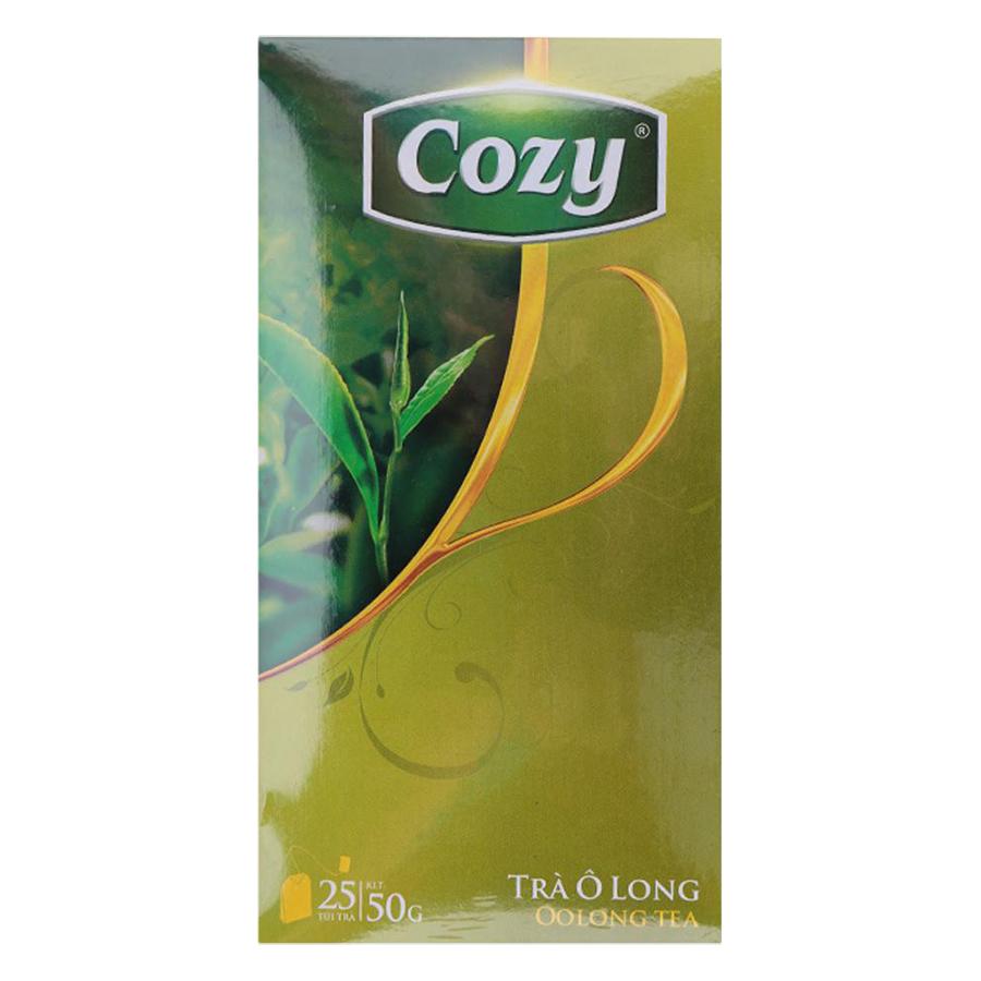 Trà Ô Long Túi Lọc Cozy (Hộp 25 gói x 2g) - 1045075 , 8936010530409 , 62_3337615 , 31900 , Tra-O-Long-Tui-Loc-Cozy-Hop-25-goi-x-2g-62_3337615 , tiki.vn , Trà Ô Long Túi Lọc Cozy (Hộp 25 gói x 2g)
