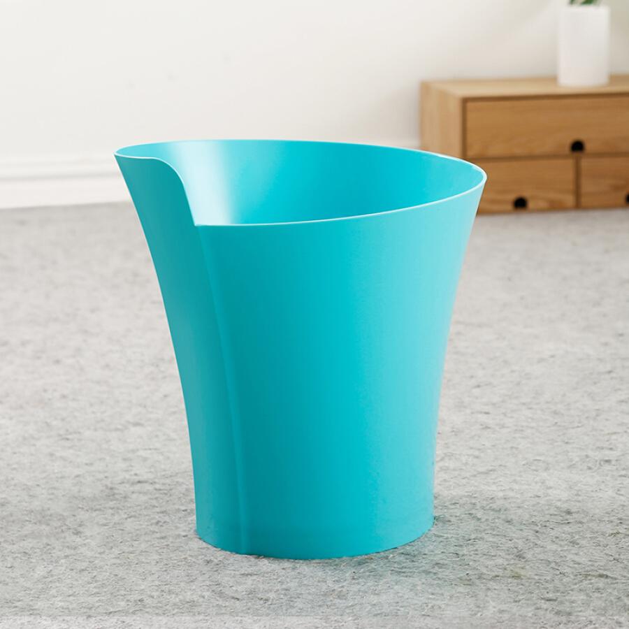 Jiayu trash can 7 liters without cover integrated trash can designer home living room bedroom kitchen bathroom simple trash