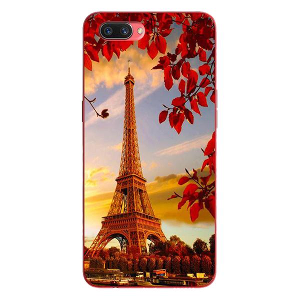 Ốp Lưng Dành Cho Oppo A3s - Tháp Eiffel Mùa Thu