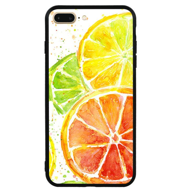 Ốp lưng viền TPU cao cấp cho Iphone 7 Plus - Oranges