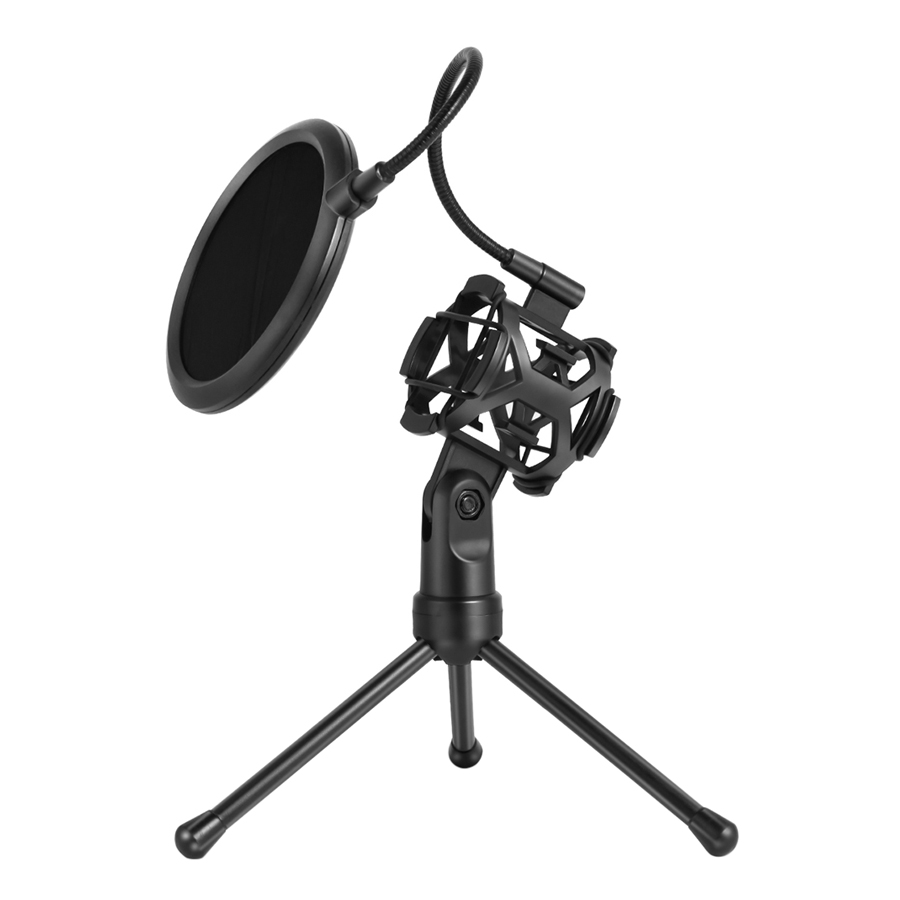 Yanmai Detachable Desktop Microphone Tripod Stand Holder Bracket Supporter With Shock Mount Mic Holder  Dual Layered - 1852305 , 6796704935208 , 62_14245503 , 307000 , Yanmai-Detachable-Desktop-Microphone-Tripod-Stand-Holder-Bracket-Supporter-With-Shock-Mount-Mic-Holder-Dual-Layered-62_14245503 , tiki.vn , Yanmai Detachable Desktop Microphone Tripod Stand Holder Brac