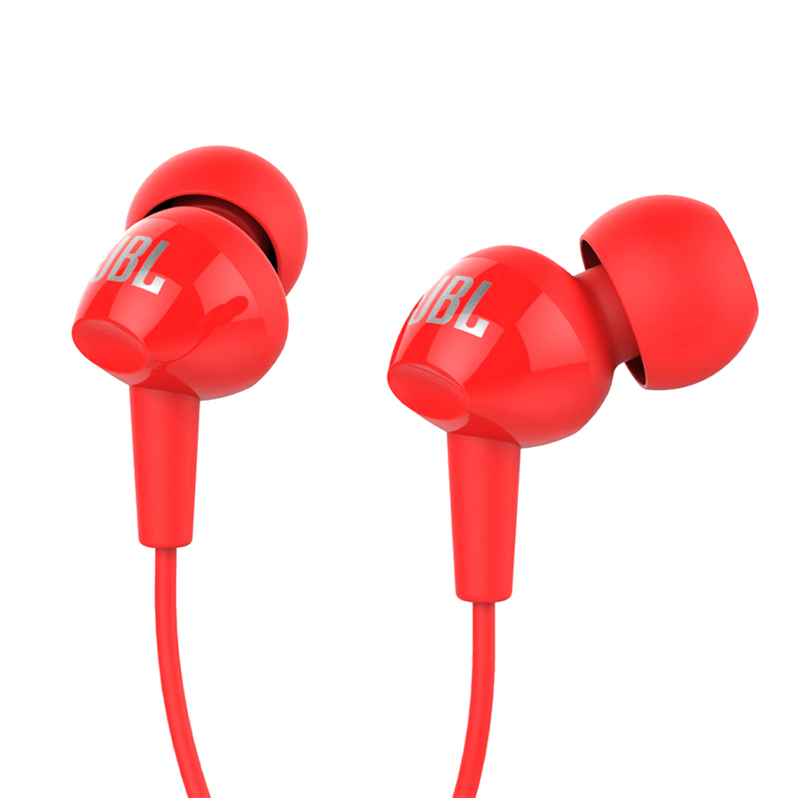 JBL C100SI In-ear Earphones With Microphone 3.5mm Jack Wired Headset For Huawei Xiaomi Samsung Smartphone Computer