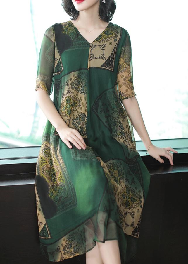 Đầm Nữ Suông Voan Lụa