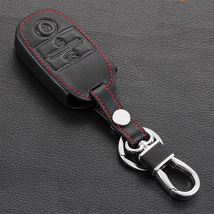 Bao da chìa khóa xe Kia Sorento / K3 / Cerato - kèm móc khóa - 9530281 , 2243887018876 , 62_17487869 , 250000 , Bao-da-chia-khoa-xe-Kia-Sorento--K3--Cerato-kem-moc-khoa-62_17487869 , tiki.vn , Bao da chìa khóa xe Kia Sorento / K3 / Cerato - kèm móc khóa