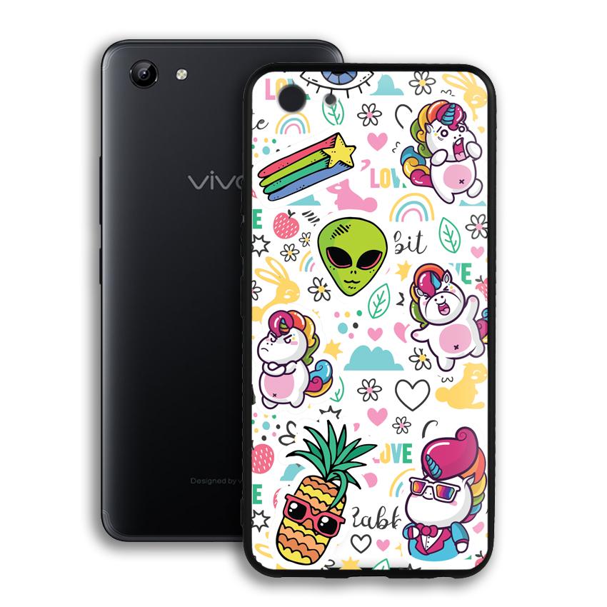 Ốp lưng viền TPU cho điện thoại Vivo Y81 - 02078 0525 LOL03 - Hàng Chính Hãng