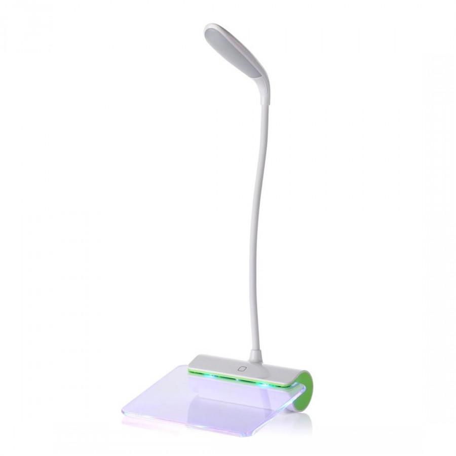 Message Desk Lamp Fluorescent Board Nightlight Green