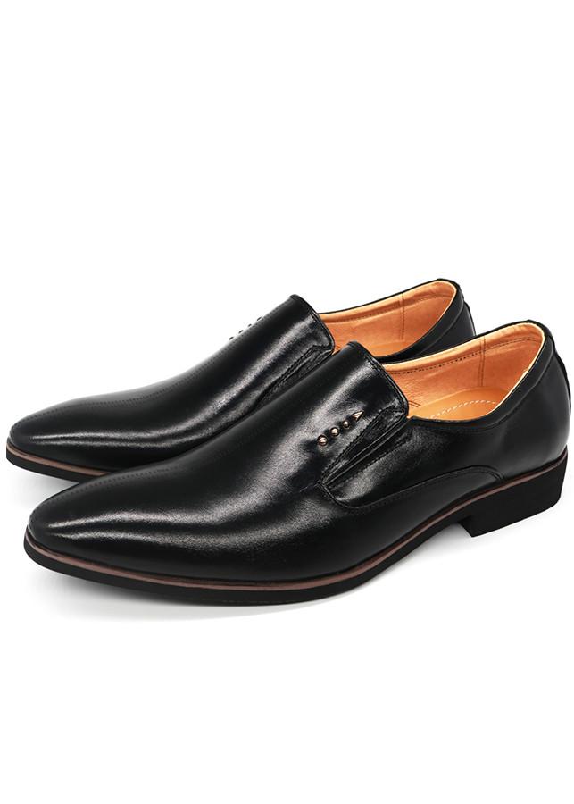 Giày Lười Công Sở Nam Da Bò Cao Cấp - Pettino PL03