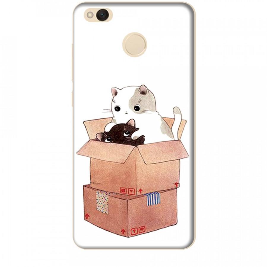 Ốp lưng dành cho điện thoại XIAOMI REDMI 4X Mèo Con Dễ Thương
