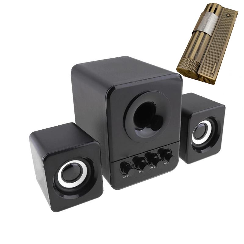 Combo Bộ 3 Loa Máy Tính USB 2.1 D-203 + Bật lửa cối kiểu cổ dùng xăng - 764619 , 4938671870607 , 62_9427908 , 500000 , Combo-Bo-3-Loa-May-Tinh-USB-2.1-D-203-Bat-lua-coi-kieu-co-dung-xang-62_9427908 , tiki.vn , Combo Bộ 3 Loa Máy Tính USB 2.1 D-203 + Bật lửa cối kiểu cổ dùng xăng
