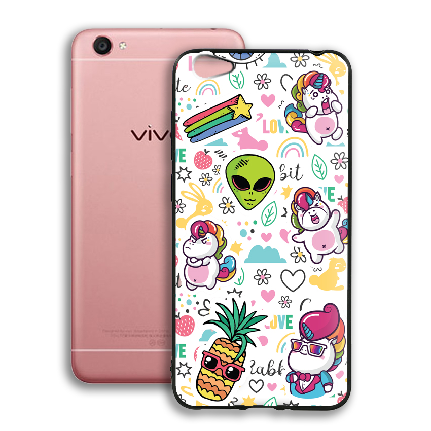 Ốp lưng viền TPU cho điện thoại Vivo Y55 - 02076 0525 LOL03 - Hàng Chính Hãng