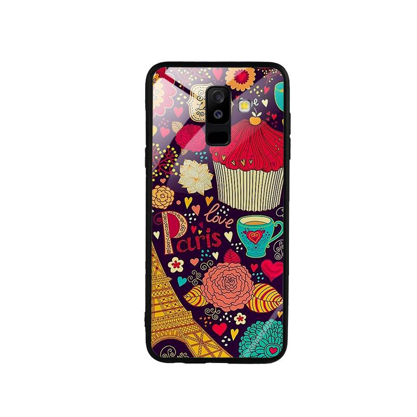 Ốp Lưng Kính Cường Lực cho điện thoại Samsung Galaxy A6 Plus 2018 - Paris 04