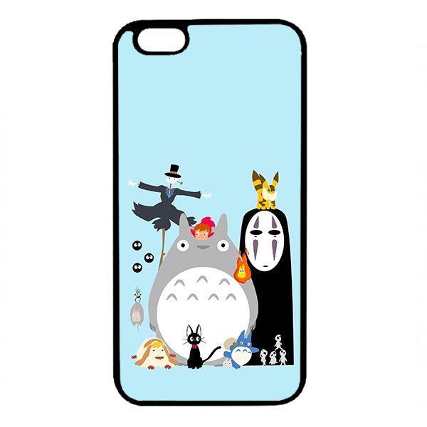 Ốp lưng dành cho điện thoại Iphone 6 Plus Ghibli Nền Xanh