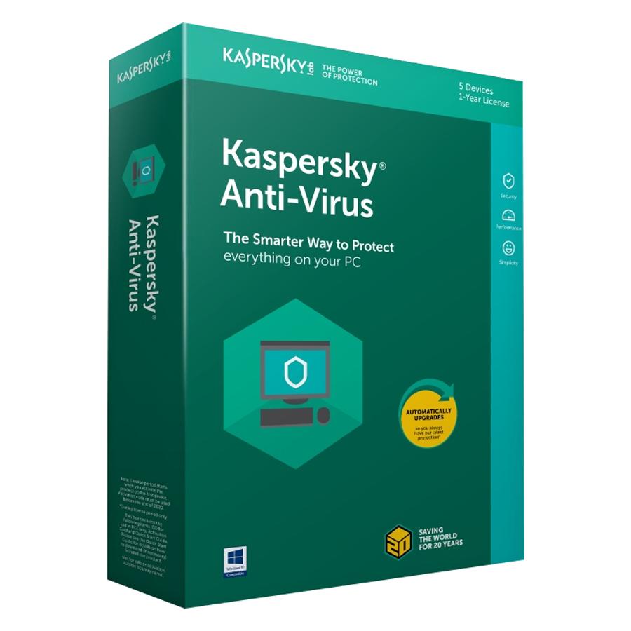 Phần Mềm Diệt Virus Kaspersky Antivirus (KAV) - Hàng chính hãng