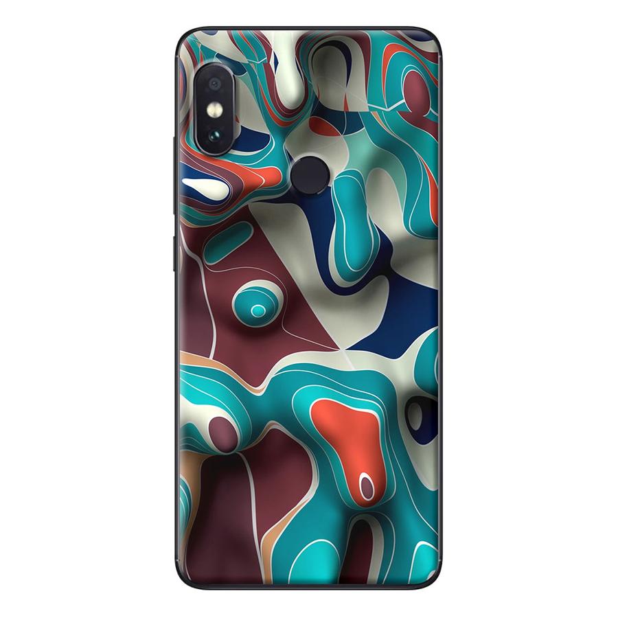 Ốp Lưng Dành Cho Xiaomi Redmi Note 5 Loang màu