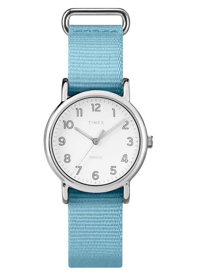 Đồng Hồ Dây Vải Nữ Timex Weekender Nylon Strap - TW2R80600