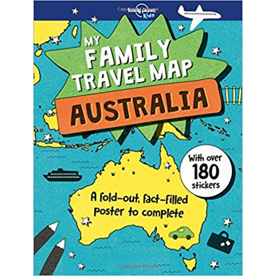 Family Travel Map - Australia My 1 - 6078102 , 8054285319441 , 62_8325833 , 391000 , Family-Travel-Map-Australia-My-1-62_8325833 , tiki.vn , Family Travel Map - Australia My 1