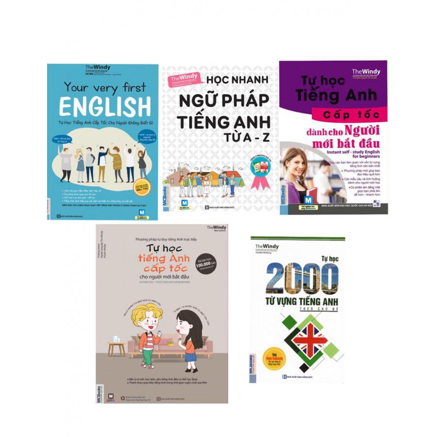 Combo Cho Người Mới Học Tiếng Anh