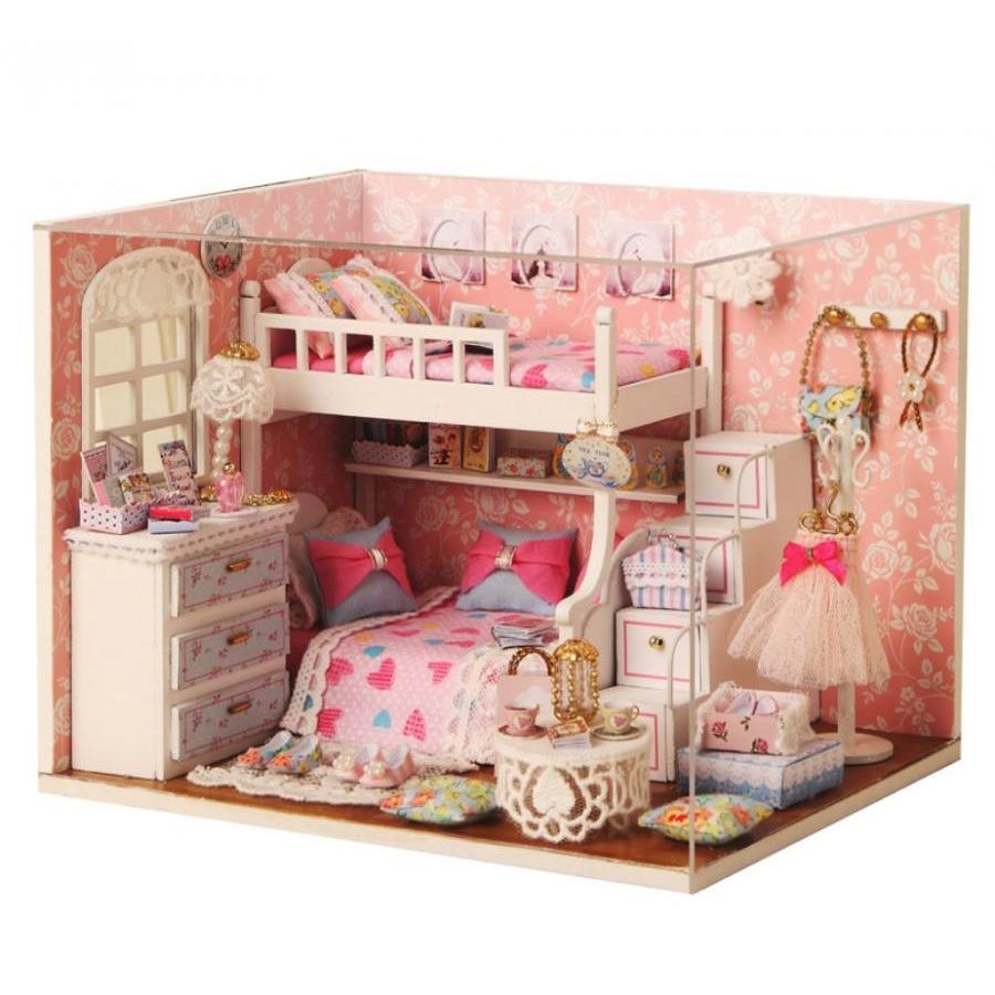 Tự ghép nhà búp bê DIY phòng ngủ màu hồng công chúa - Dream Catcher Angel - 985345 , 2067401348658 , 62_2564767 , 350000 , Tu-ghep-nha-bup-be-DIY-phong-ngu-mau-hong-cong-chua-Dream-Catcher-Angel-62_2564767 , tiki.vn , Tự ghép nhà búp bê DIY phòng ngủ màu hồng công chúa - Dream Catcher Angel
