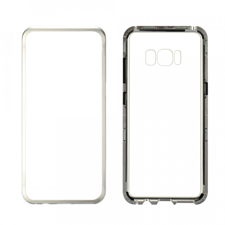 Metal-Rimmed Mobile Phone Case Hardened Glass Magnetic Adsorption Protection Smartphone Cover Bumper Luxury Aluminum - 1964675 , 6169266494153 , 62_14717994 , 311000 , Metal-Rimmed-Mobile-Phone-Case-Hardened-Glass-Magnetic-Adsorption-Protection-Smartphone-Cover-Bumper-Luxury-Aluminum-62_14717994 , tiki.vn , Metal-Rimmed Mobile Phone Case Hardened Glass Magnetic Adsor