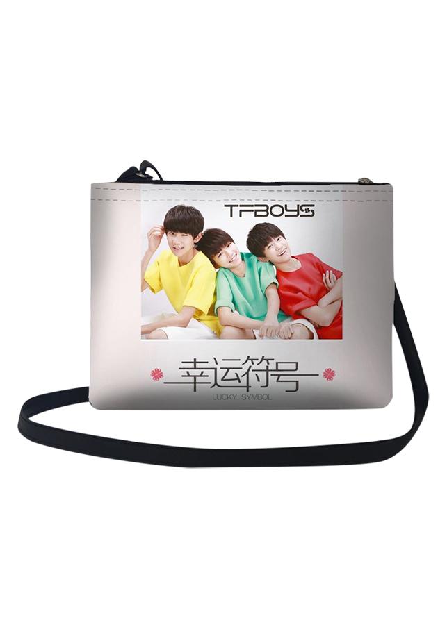 Túi Đeo Chéo Nữ In Hình Tf Boys Lucky Symbol - TUCH022 (24 x 17 cm)