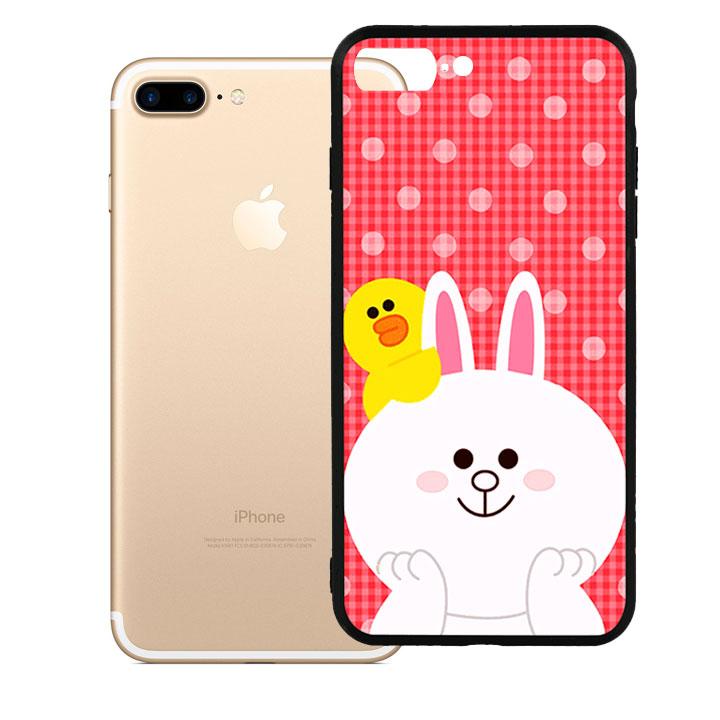 Ốp lưng viền TPU cao cấp dành cho iPhone 7 Plus - Cony 01 - 1016075 , 2128255661642 , 62_15033821 , 200000 , Op-lung-vien-TPU-cao-cap-danh-cho-iPhone-7-Plus-Cony-01-62_15033821 , tiki.vn , Ốp lưng viền TPU cao cấp dành cho iPhone 7 Plus - Cony 01