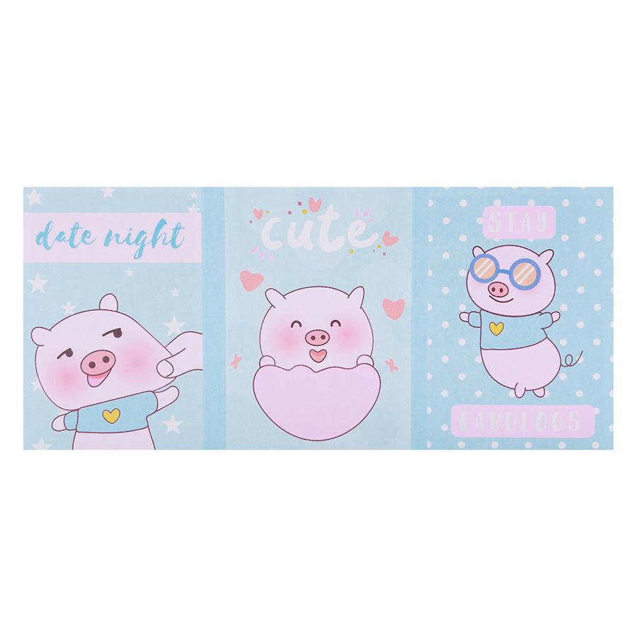 Sổ Giấy Note Pig (6 Xấp)