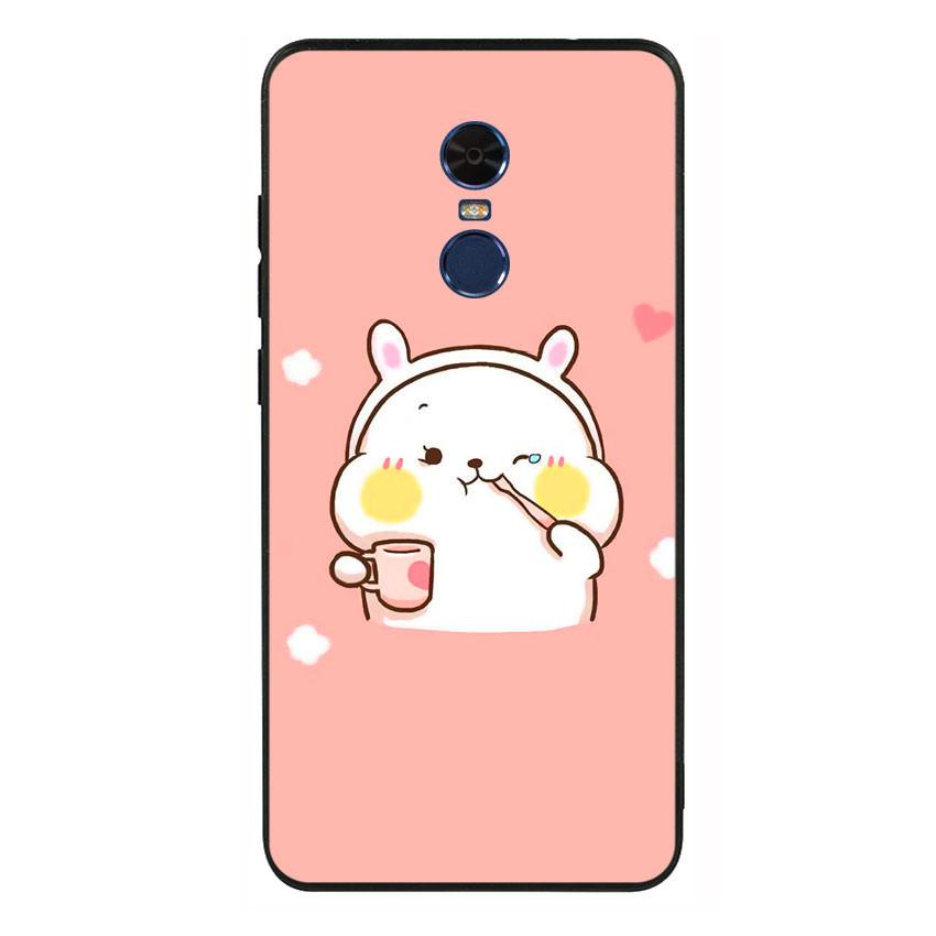 Ốp lưng nhựa cứng viền dẻo TPU cho điện thoại Xiaomi Redmi 5 Plus - Cute 06